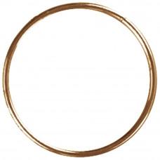 Кольцо металлическое для макраме, 12,7 см.(80B5)