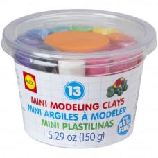 Пластилин, 13 цветов (267M)