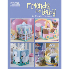 Книга Friends For Baby In Plastic Canvas (LA-5831)