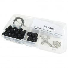 Набор для изготовления четок Black Crystal Beads/Black Pearls (CR-12 12)