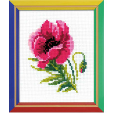 Розовый мак (НВ134)