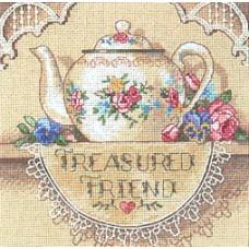 Кружевной чайничек (6904)