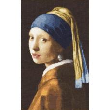 Девушка с жемчужной сережкой (МК-021)*