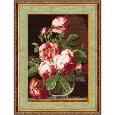 Набор для вышивания крестиком Золотое руно Английские розы (ГН-011)