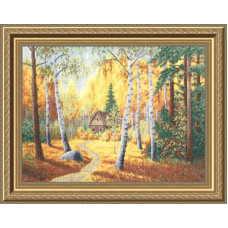 Набор для вышивания крестиком Золотое руно В тиши лесной (ВМ-026)