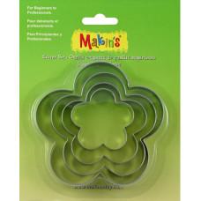 Набор форм для резки пластика Цветок, 4 шт.(M365 05)