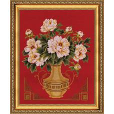 Набор для вышивания крестиком Золотое руно Белая элегия (ЛЦ-024)