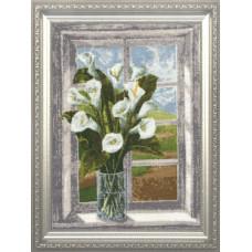 Букет на окне (ЛЦ-034)
