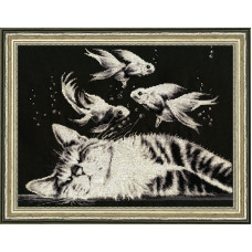Набор для вышивания крестиком Золотое руно Васькин сон (С-017)