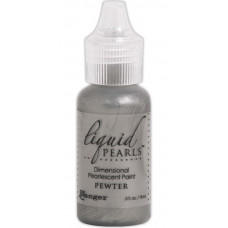 Жидкий жемчуг, Liquid Pearls Glue, Pewter (46813)