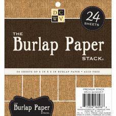 Набор бумаги Burlap (MS019057)