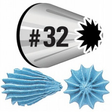Насадка Звезда Wilton Star Decorating Tip №32 (W418OS-32)