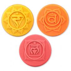 Формы для мыла Чакры-2, 3 шт.(CHAK2_1619)