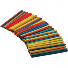 Набор заготовок Палочки деревянные разноцветные, 750 шт.(CW525)