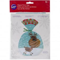 Набор пакетов для сладостей Сладкий праздник, 15 шт (W5122)