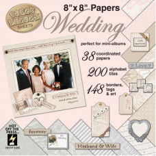 Набор бумаги Wedding (8X8 PAPR 5205)