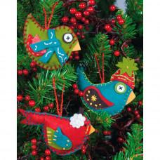 Набор для пошива игрушек Птички (72-08170)