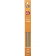 Спицы алюминиевые с наконечниками Boye № 4, длина 25 см (6327 4)