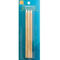 Набор смываемых карандашей для ткани - красный, белый, синий, 3 шт (882669)