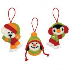 Игрушки на елку Праздничные улыбки, украшение (72-08197)*
