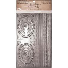 Набор украшений Металлические рамки и планки (TH93136)