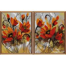 Огненные цветы (В2 1008)