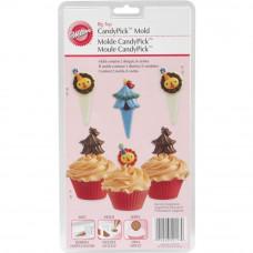 Формочки для создания конфет-украшений Цирк (W52117)