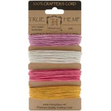 Набор шнуров для рукоделия Весеннее цветение 2, 4 шт. (HC20 SB2)