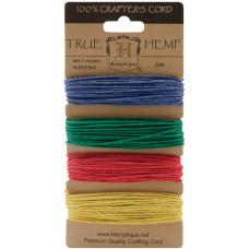 Набор шнуров для рукоделия Топаз Hemptique, 4 шт. (HC20 SOT)