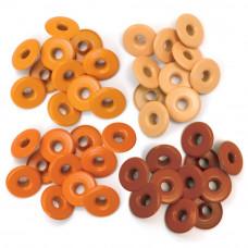 Люверсы Eyelets Wide Оранжевые, 40 шт.(WER-EW 41586)