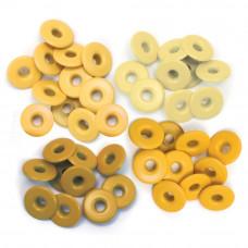 Люверсы Eyelets Wide Желтые, 40 шт.(WER-EW 41587)