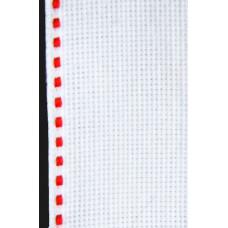 Лента-аида с красной строчкой (узкая)