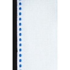 Лента-аида с синей строчкой (узкая)