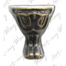 Ножка металлическая фигурная (MFС-014)