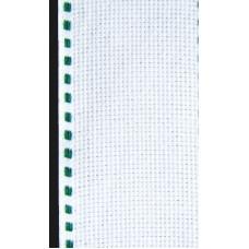 Лента-аида с зелёной строчкой (узкая)