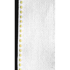 Лента-аида с жёлтой строчкой (узкая)
