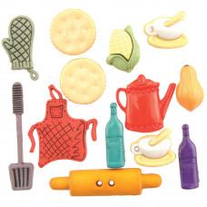 Набор пуговиц Кухня (4091)