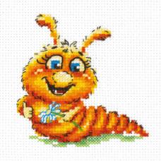 Набор для вышивания крестиком Чудесная игла Буду бабочкой (18-70)
