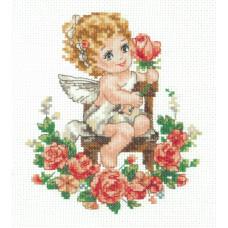 Набор для вышивания крестиком Чудесная игла День Ангела (35-18)