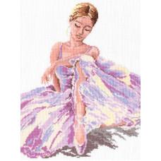 Набор для вышивания крестиком Чудесная игла Балерина (65-01)