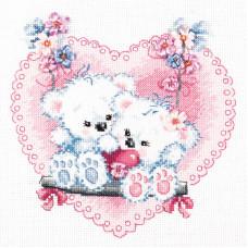 Набор для вышивания крестиком Чудесная игла Счастливая любовь (80-06)