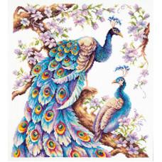 Набор для вышивания крестиком Чудесная игла Во всей красе (64-06)