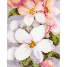 Набор для вышивания крестиком Чарівна мить Яблоневый цвет (428)