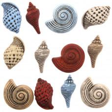Набор пуговиц Морские ракушки (BTP 4262)