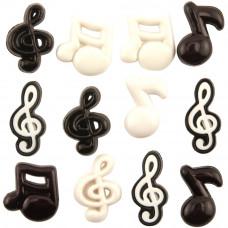Набор пуговиц Музыкальные ноты (BTP 4279)