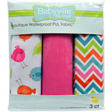 Набор водонепроницаемых тканей для шитья Маленькие птички  (35282)