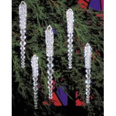 Набор для создания елочных украшений Сосульки (BOK 5489)