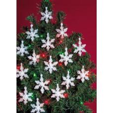 Набор для создания елочных украшений Снежинки (BOK 5500)