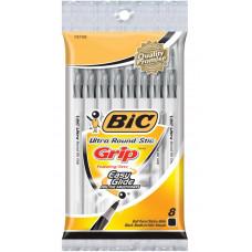Ручки шариковые Bic Ультра, черные, 8 шт (GSMGP81 BLK)