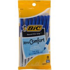 Ручки шариковые Ультра Bic, синие, 8 шт (GSMGP81 BLU)